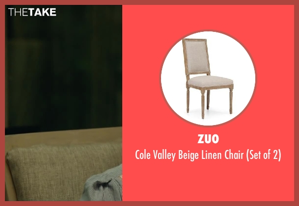 ZUO chair from Oculus