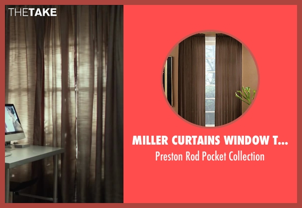 Miller Curtains Window Treatments collection from Oculus