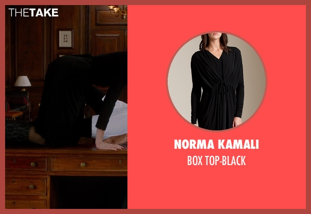 NORMA KAMALI black top-black from Vampire Academy seen with Olga Kurylenko (Headmistress Kirova)