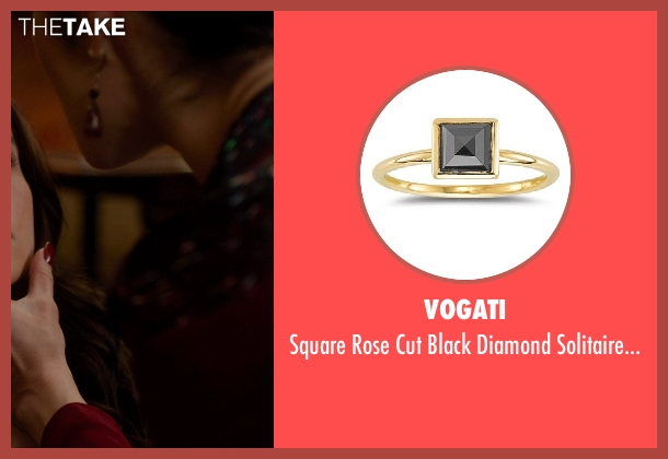 Vogati gold ring from Vampire Academy seen with Olga Kurylenko (Headmistress Kirova)