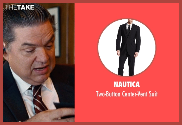 Nautica black suit from Cut Bank seen with Oliver Platt (Joe Barrett)