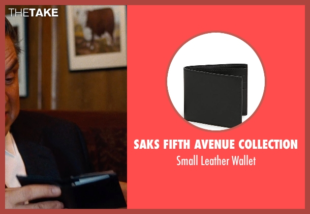 Saks Fifth Avenue Collection black wallet from Cut Bank seen with Oliver Platt (Joe Barrett)