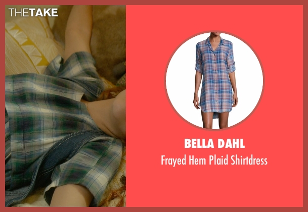 Bella Dahl blue shirtdress from Me and Earl and the Dying Girl seen with Olivia Cooke (Rachel)