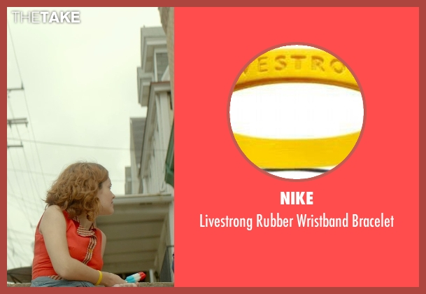 Nike bracelet from Me and Earl and the Dying Girl seen with Olivia Cooke (Rachel)