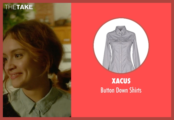 Xacus gray shirts from Me and Earl and the Dying Girl seen with Olivia Cooke (Rachel)