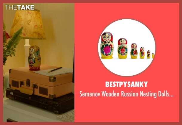 BestPysanky matryoshka from Me and Earl and the Dying Girl seen with Olivia Cooke (Rachel)