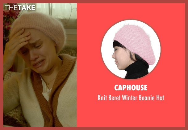 Caphouse pink hat from Me and Earl and the Dying Girl seen with Olivia Cooke (Rachel)