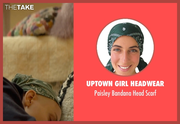 Uptown Girl Headwear scarf from Me and Earl and the Dying Girl seen with Olivia Cooke (Rachel)
