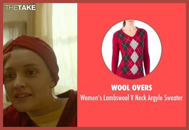 Wool Overs sweater from Me and Earl and the Dying Girl seen with Olivia Cooke (Rachel)