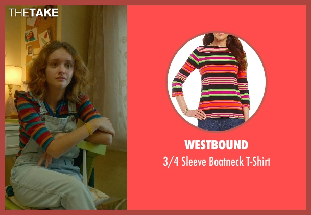 Westbound t-shirt from Me and Earl and the Dying Girl seen with Olivia Cooke (Rachel)