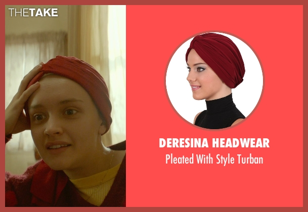 Deresina Headwear turban from Me and Earl and the Dying Girl seen with Olivia Cooke (Rachel)