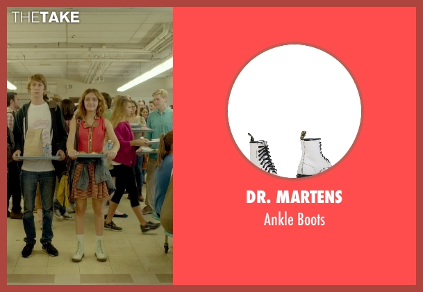 Dr. Martens white boots from Me and Earl and the Dying Girl seen with Olivia Cooke (Rachel)