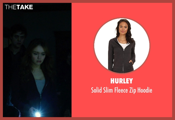 Hurley black hoodie from Ouija seen with Olivia Cooke (Elaine Morris)