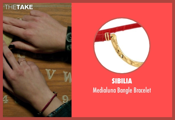 Sibilia red bracelet from Ouija seen with Olivia Cooke (Elaine Morris)