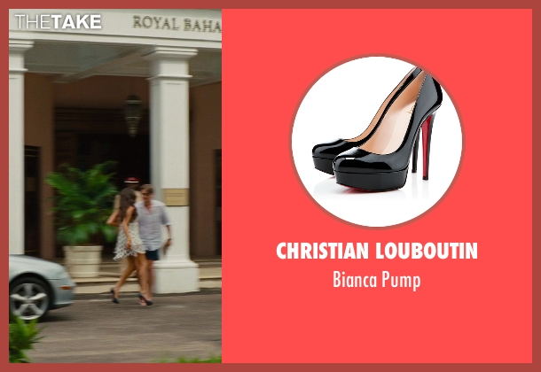 Christian Louboutin blue pump from The Other Woman seen with Olivia Culpo (Raven-Haired Beauty)