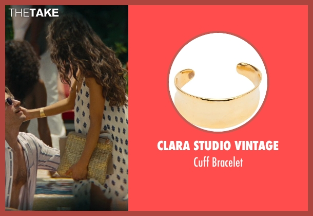 Clara Studio Vintage gold bracelet from The Other Woman seen with Olivia Culpo (Raven-Haired Beauty)