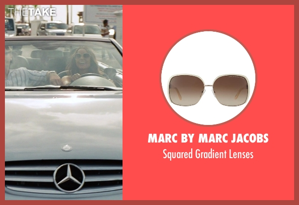 Marc By Marc Jacobs white lenses from The Other Woman seen with Olivia Culpo (Raven-Haired Beauty)