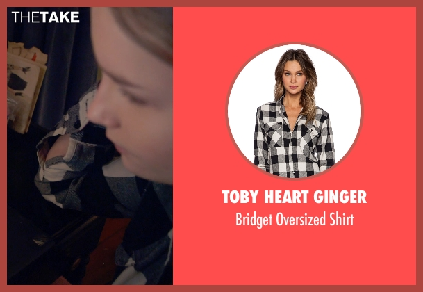 Toby Heart Ginger black shirt from The Visit seen with Olivia DeJonge (Unknown Character)