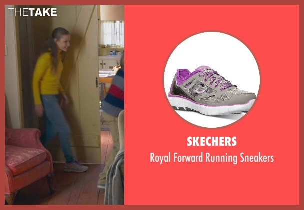Skechers gray sneakers from The Visit seen with Olivia DeJonge (Unknown Character)
