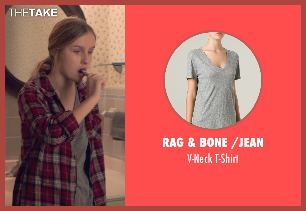 Rag & Bone /Jean gray t-shirt from The Visit seen with Olivia DeJonge (Unknown Character)
