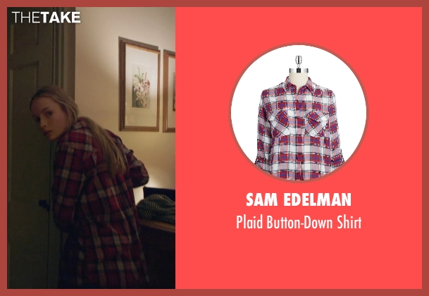 Sam Edelman red shirt from The Visit seen with Olivia DeJonge (Unknown Character)