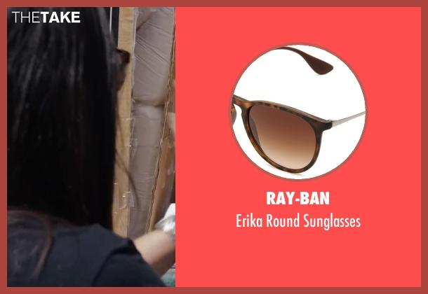 Ray-Ban brown sunglasses from Ride Along 2 seen with Olivia Munn (Maya Cruz)