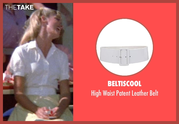BeltIsCool white belt from Grease seen with Olivia Newton-John (Sandy)