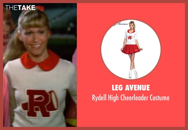Leg Avenue white costume from Grease seen with Olivia Newton-John (Sandy)