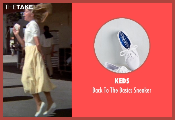Keds white sneaker from Grease seen with Olivia Newton-John (Sandy)