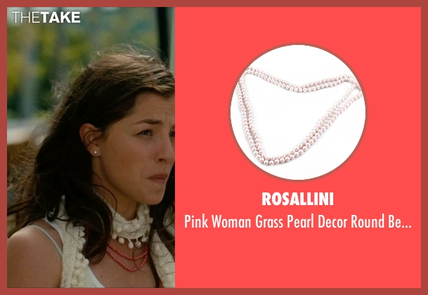 Rosallini necklace from No Strings Attached seen with Olivia Thirlby (Katie)