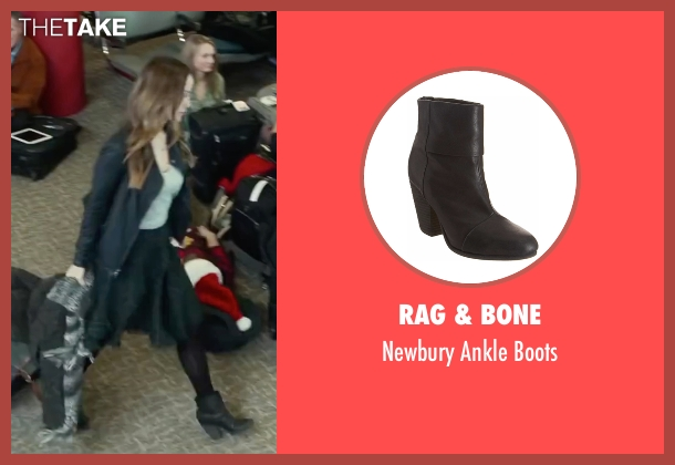 Rag & Bone black boots from Love the Coopers seen with Olivia Wilde (Eleanor)