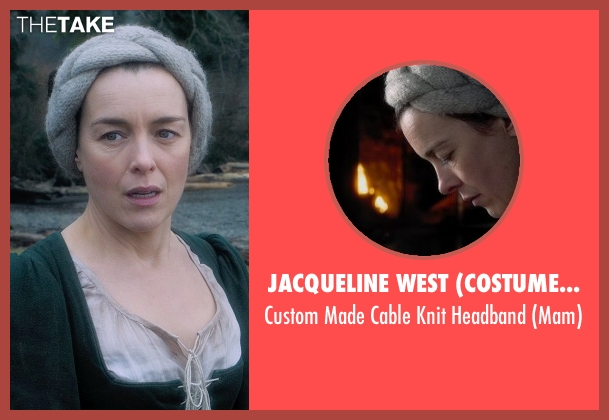 Jacqueline West (Costume Designer) headband from Seventh Son seen with Olivia Williams (Mam)