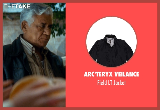 Arc'Teryx Veilance black jacket from The Hundred-Foot Journey seen with Om Puri (Papa)