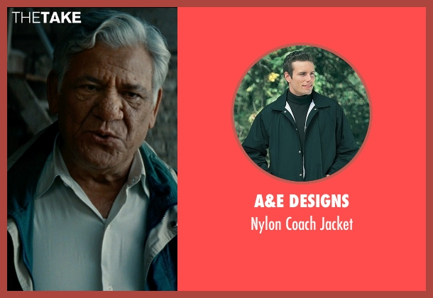 A&E Designs jacket from The Hundred-Foot Journey seen with Om Puri (Papa)