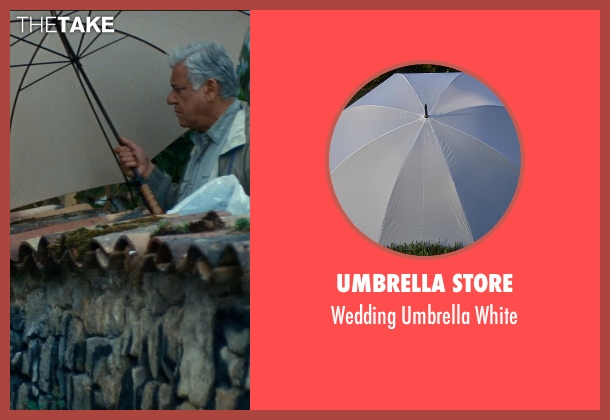 Umbrella Store white white from The Hundred-Foot Journey seen with Om Puri (Papa)