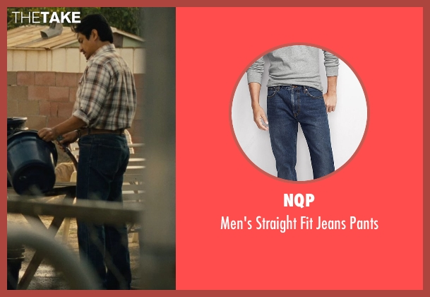 NQP blue pants from McFarland, USA seen with Omar Leyva (Señor Diaz)