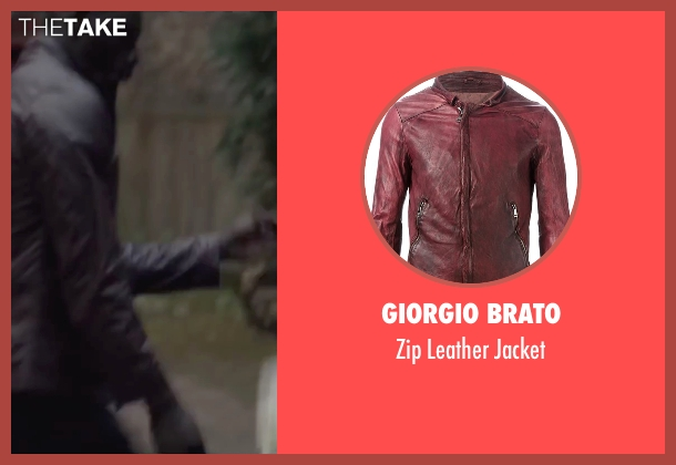 Giorgio Brato red jacket from Burnt seen with Omar Sy (Michel)