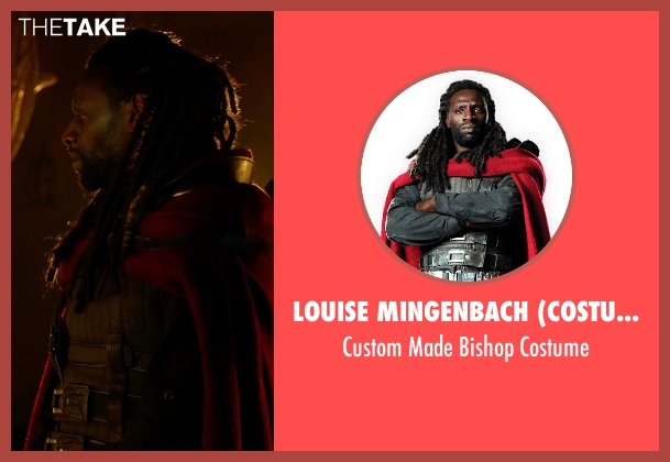 Louise Mingenbach (Costume Designer) costume from X-Men: Days of Future Past seen with Omar Sy (Bishop)