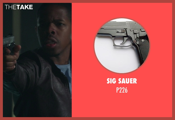SIG Sauer p226 from Ride Along seen with Omari Wallace (Tweaker)