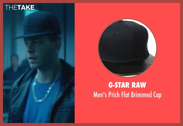 G-Star Raw black cap from John Wick seen with Omer Barnea (Gregori)