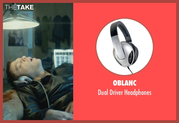 Oblanc black headphones from John Wick seen with Omer Barnea (Gregori)