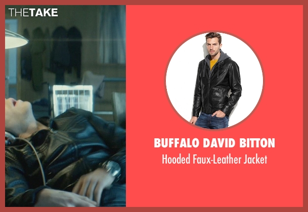 Buffalo David Bitton black jacket from John Wick seen with Omer Barnea (Gregori)