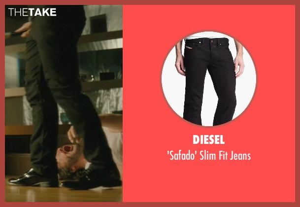 Diesel black jeans from John Wick seen with Omer Barnea (Gregori)