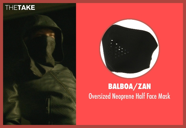 Balboa/Zan black mask from John Wick seen with Omer Barnea (Gregori)