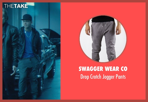 Swagger Wear Co gray pants from John Wick seen with Omer Barnea (Gregori)
