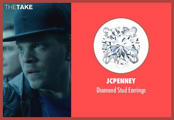 JCPenney silver earrings from John Wick seen with Omer Barnea (Gregori)
