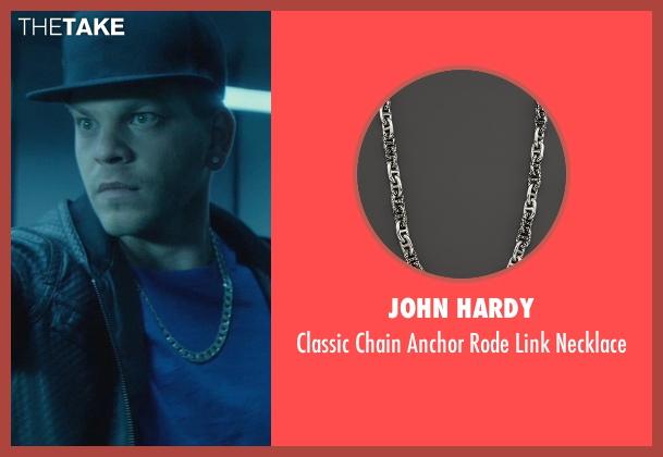 John Hardy silver necklace from John Wick seen with Omer Barnea (Gregori)