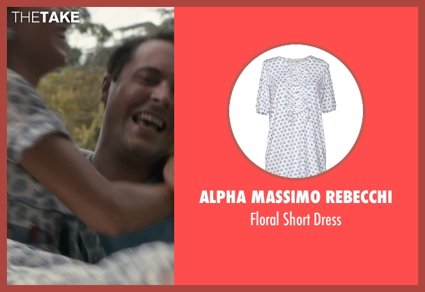 Alpha Massimo Rebecchi white dress from The Longest Ride seen with Oona Chaplin (Ruth)