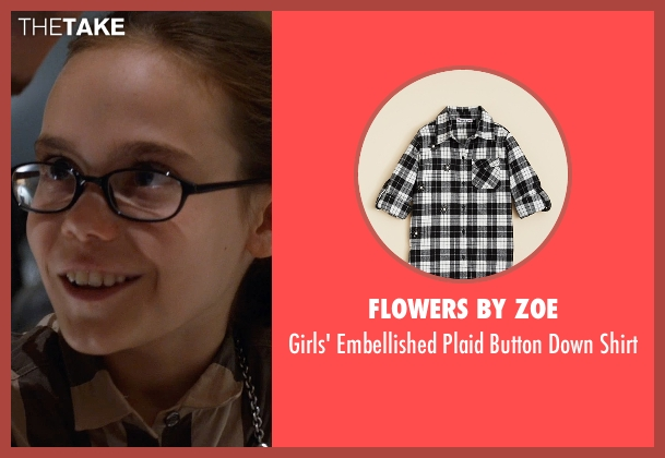 Flowers by Zoe black shirt from Southpaw seen with Oona Laurence (Leila Hope)