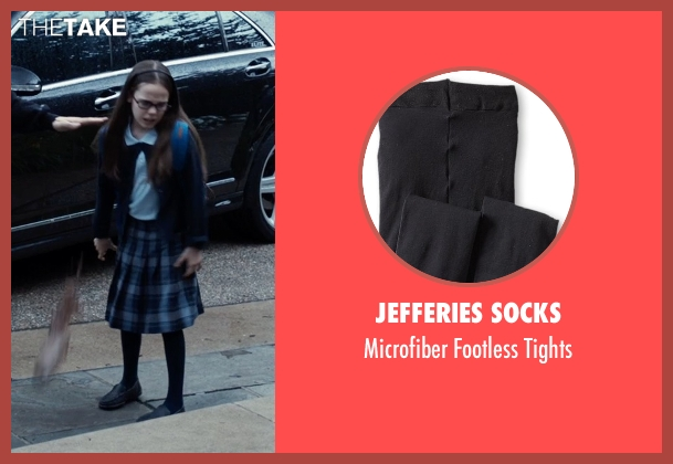 Jefferies Socks black tights from Southpaw seen with Oona Laurence (Leila Hope)